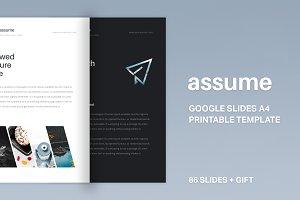 A4 | Assume Google Slides Template