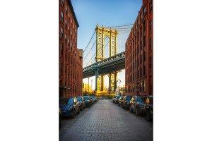 View on Manhattan bridge