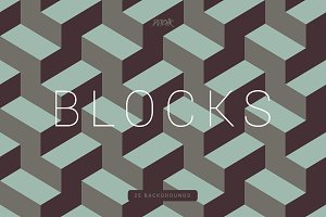 Blocks | Seamless Geometric Bgs