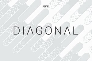 Diagonal | Rounded Lines Bgs | V05