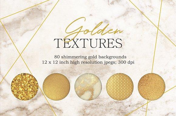 Gold Textures Bundle