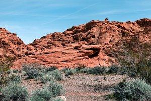Landscape Of Sandstone Formation