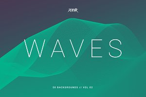 Waves | Network Lines Bgs | V02