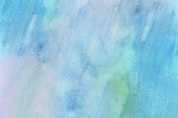 Soft Blue Nuance Watercolor Texture