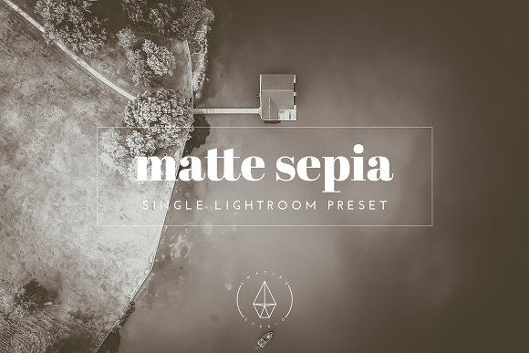 Matte Sepia Lightroom Preset