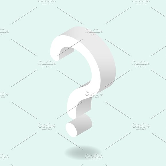 Vector Image Of Question Mark Icon