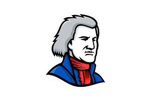 Thomas Jefferson Mascot