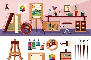Art Studio Interior Design Concept
