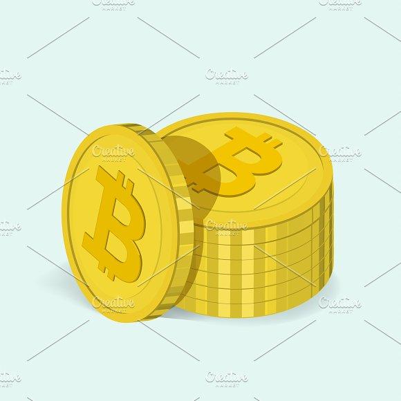 Vector Icon Of Bitcoin Icon