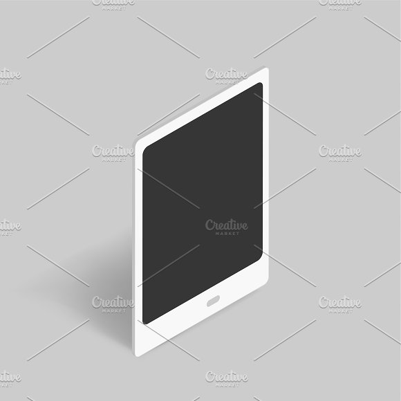 Vector Of Digital Tablet Icon
