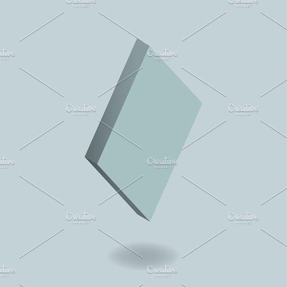 Vector Icon Of Diamond Card Sign