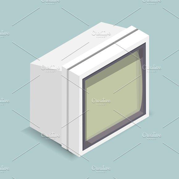 Vector Illustration Of Computer