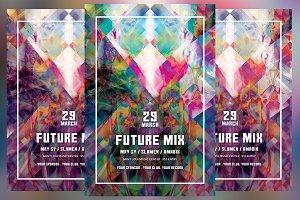 Future Mix Flyer
