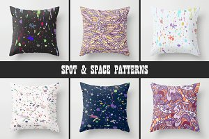 12 SPOT & SPACE PATTERNS