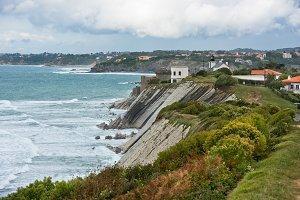 Coastline near Saint-Jean-de-Luz,