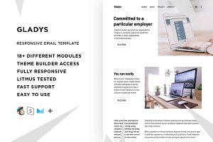 Gladys – Email template + Builder