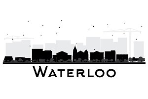 Waterloo Iowa City skyline