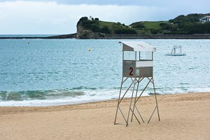 Saint-Jean-de-Luz sand beach in
