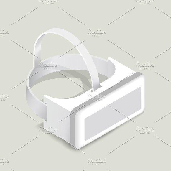 Vector Image Of Virtual Reality