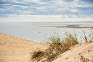View of The Arcachon Bay and The