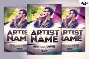 ARTIST & DEEJAY Flyer Template