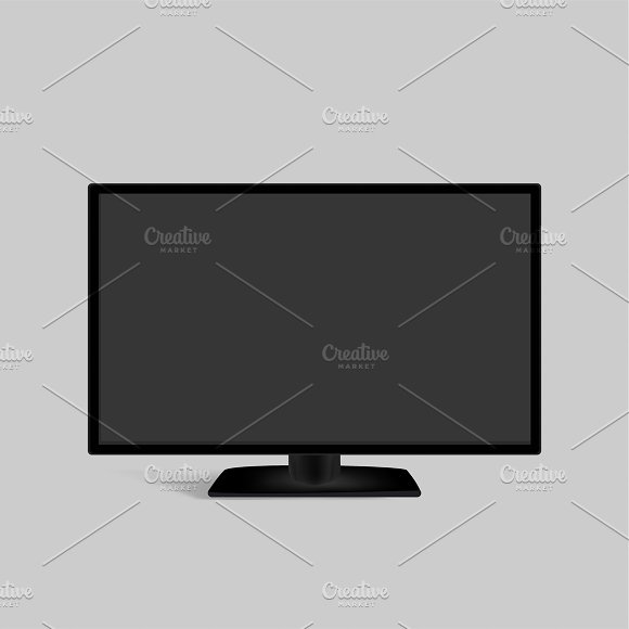 Vector Of Computer Monitor Icon