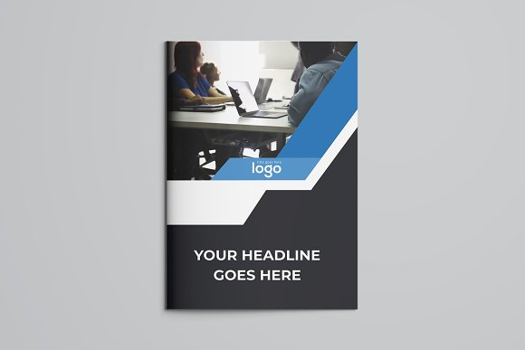Business Bifold Brochure in Brochure Templates - product preview 3