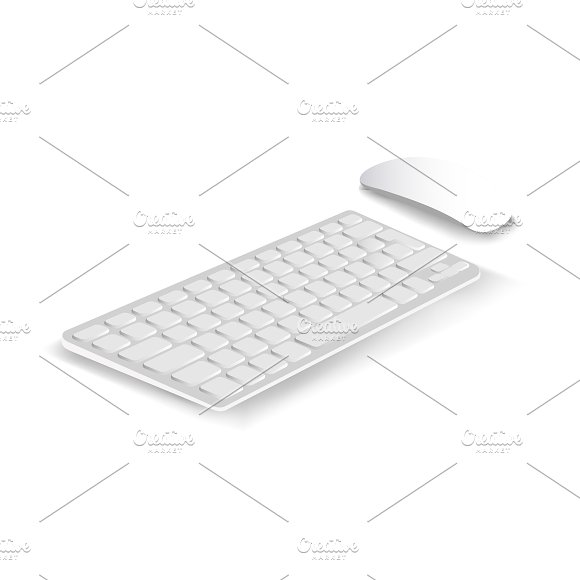 Vector Of Keyboard And Mouse Icon