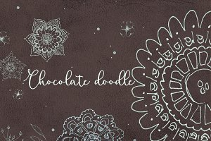 Chocolate doodle