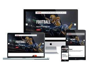 AT Rugby – American Football Joomla