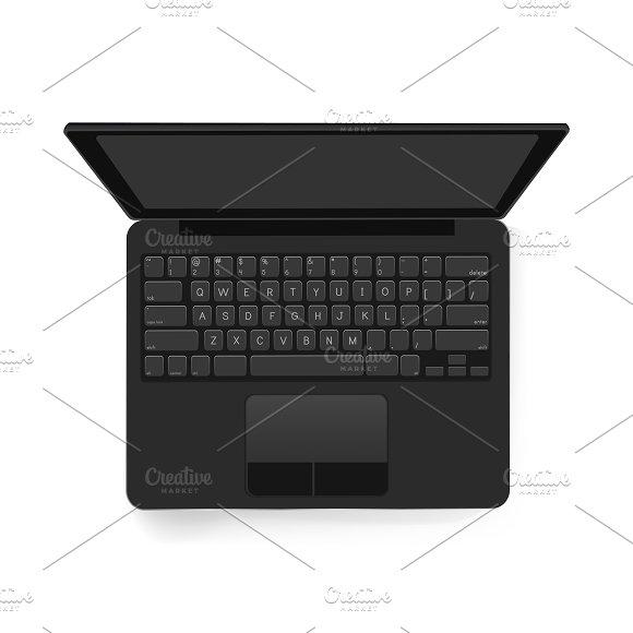 Vector Icon Of Computer Laptop Icon
