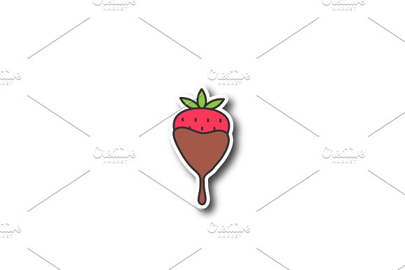 Chocolate Covered Strawberry Patch