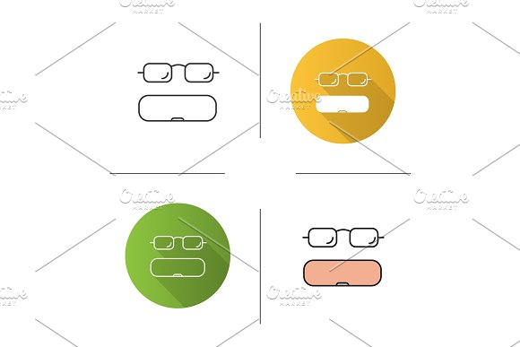Eyeglasses Case Icon