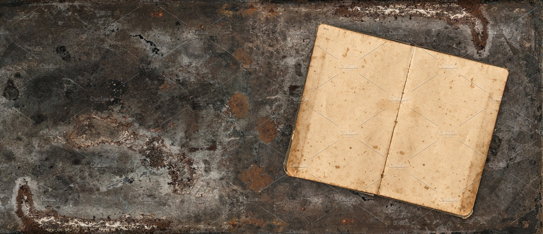 Rustic Textured Background With Book Textures Creative Market