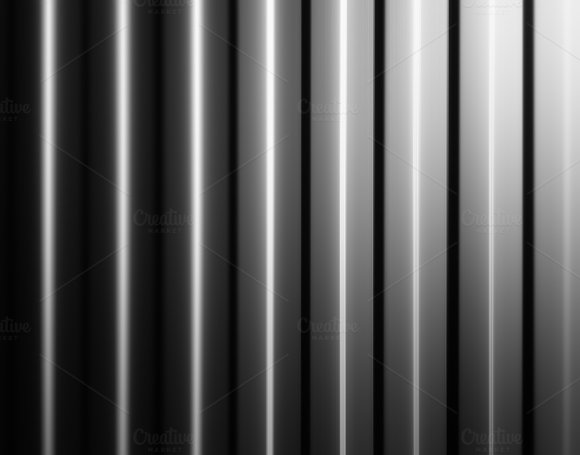 Vertical Black And White Panels Illustration Background