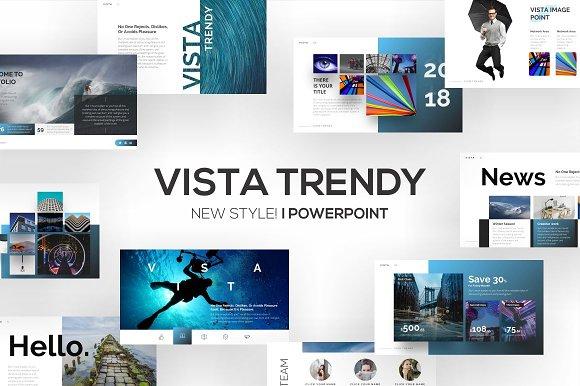 vista trendy powerpoint template presentation templates creative