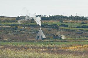 Geothermal Spring in Iceland