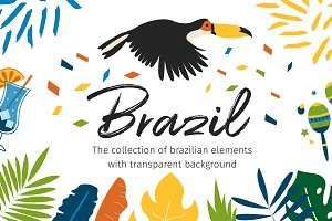 Brazil Elements&Patterns+BONUS
