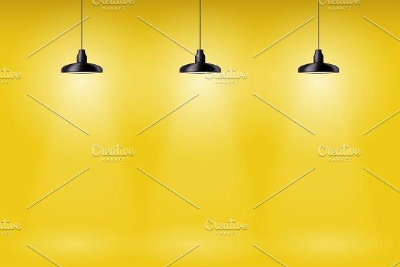 Retro Pendant Ceiling Cone Lamp