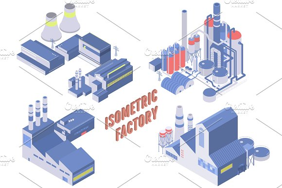 Vector Isometric Factory