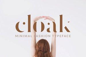 Cloak - Minimal Fashion Font