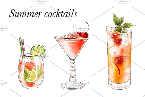 Summer Cocktails Collection 2