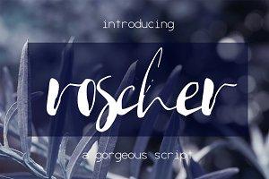 Roscher Font
