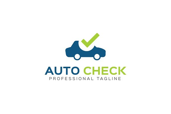 Auto Check Logo Template