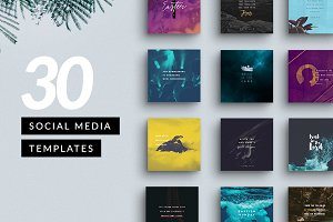 Customizable Social Media Pack