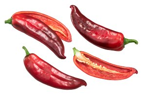 Red Hatch chiles