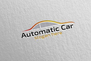 Car Logo for Sport, Rent or Mechanic