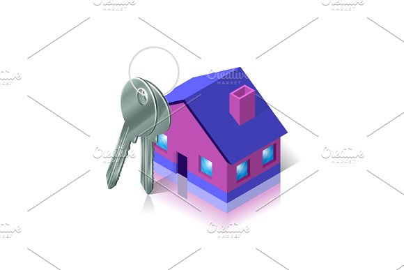 Bunch Of Keys And House Apartment And Flat Renting