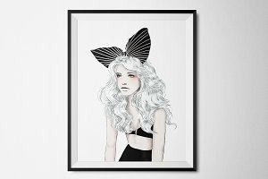 Bunny Girl Art Print