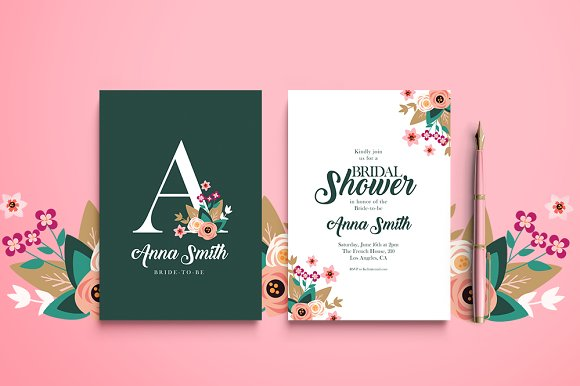 Bridal Shower Invitation - Invitations